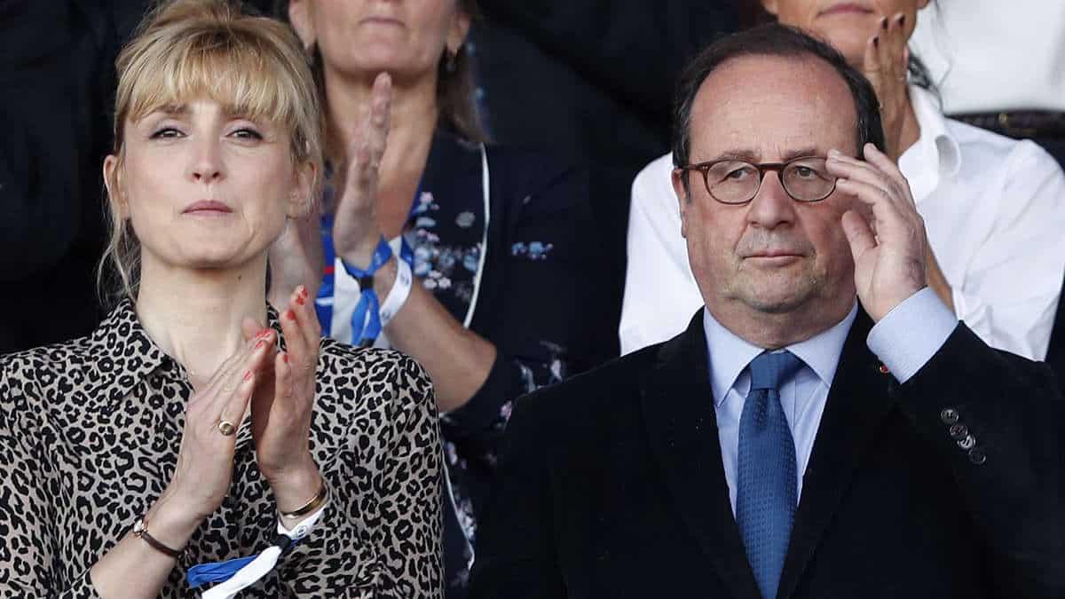 Juliette Gernez et François Hollande