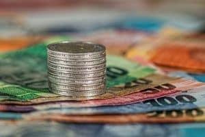 Münzen, Banknoten, Geld, Währung