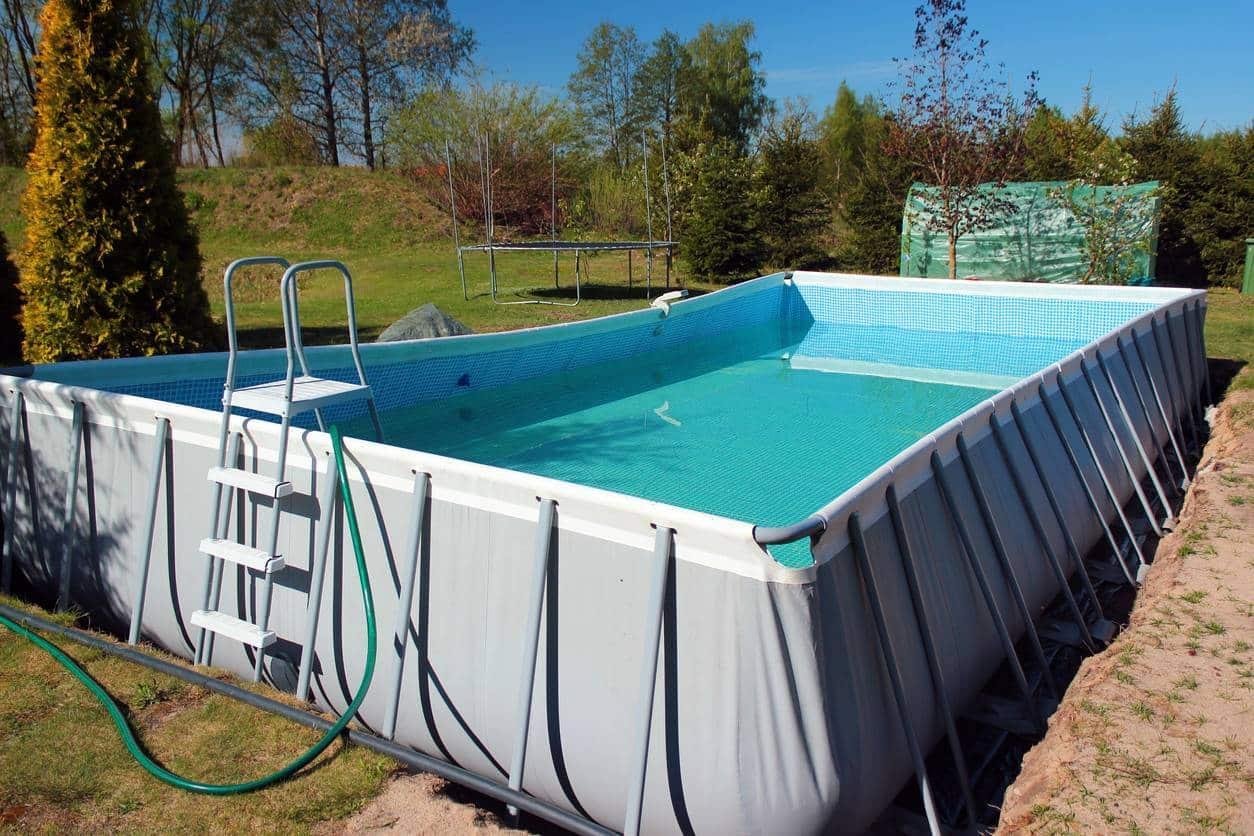 piscine hors sol ; piscine gonflable