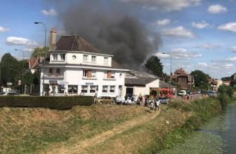 Un incendie à Saint Omer remporte huit voitures